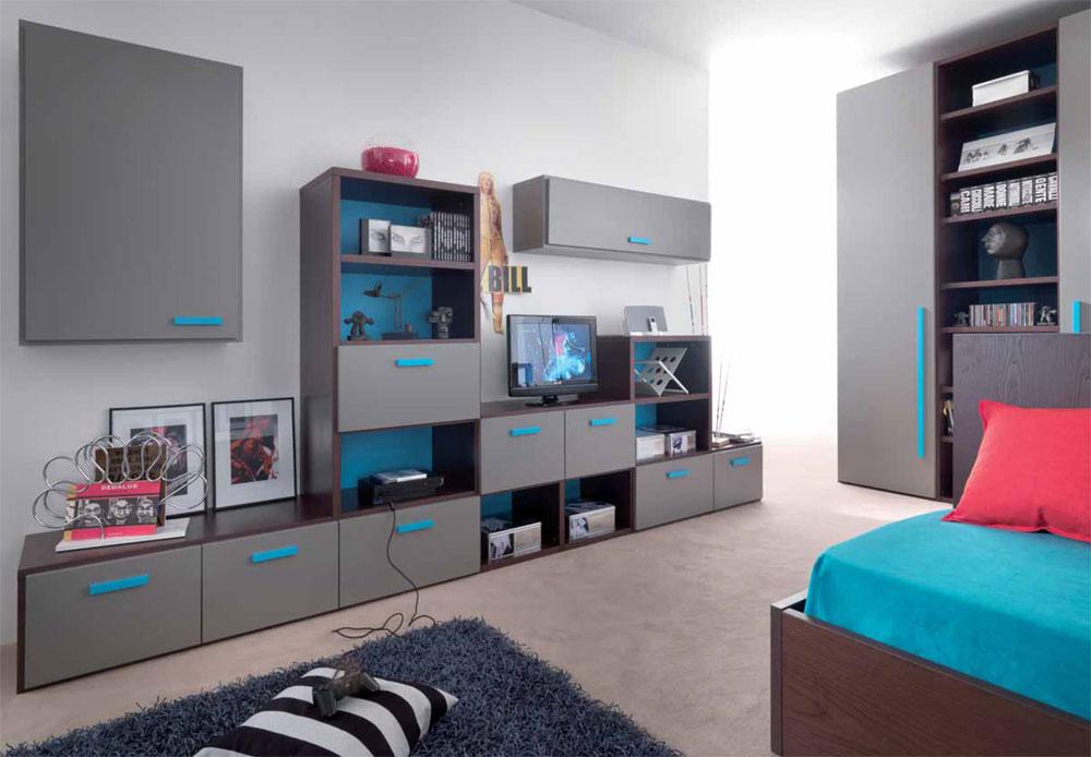 Детская подростковая мебель, основные требования и характери.